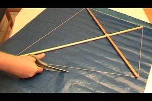 Drachen selber bauen - Anleitung