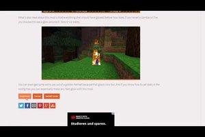 Minecraft - einen Minenhelm craften