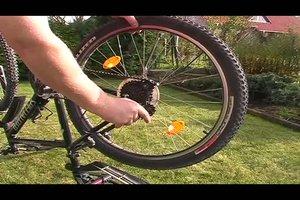 Hinterrad vom Fahrrad wechseln - so geht´s