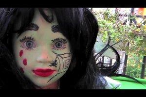 Halloween - schminken als Hexe