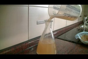 Quittenlikör aus Quittensaft -  ein Rezept mit Wodka