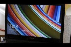 Laptop: Bildschirm flackert - was tun?