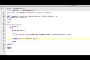 HTML-Linkfarbe ändern - so geht es