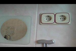 Steckdosen im Badezimmer einrichten - darauf ist zu achten