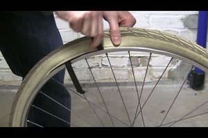 Fahrradmantel wechseln - so geht´s