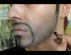 Mann zu frau schminken