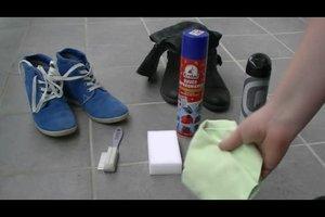 Veloursleder-Schuhe richtig reinigen