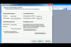 GMX mit Outlook verbinden - so funktioniert´s