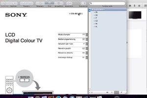 Sony Bravia - Bedienungsanleitung für den LCD-Fernseher