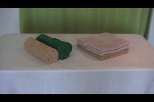 Handtücher falten - so geht´s dekorativ