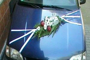 Hochzeitsdeko für das Auto selber gestalten