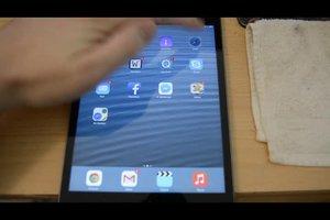 Verlauf auf dem iPad - Übersicht