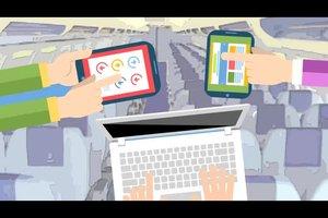 iPad im Flugzeug erlaubt? - Wissenswertes zu elektronischen Geräten an Bord