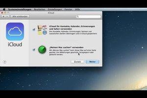 Die iCloud-Registrierung klappt so