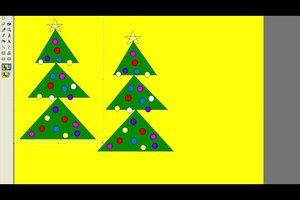 Weihnachtsmotive zum Ausdrucken in Paint erstellen - so geht's