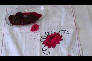 Rote Beete - Flecken entfernen