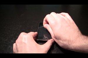 Folie vom iPhone entfernen - so geht's