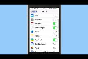 Daten vom iPhone 4 bei iCloud speichern - so funktioniert's