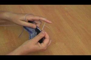 Socken stricken ohne Ferse - Anleitung