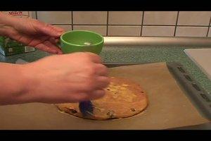 Osterfladen aus Hefeteig - ein Rezept