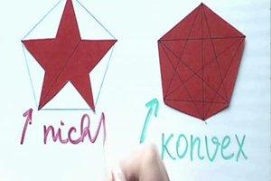 Konvexe Vierecke richtig zeichnen - Anleitung