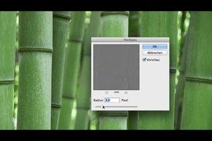 Photoshop - Schärfen mit dem Hochpass-Filter