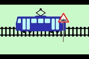 Verkehrsregeln für die Straßenbahn einfach erklärt