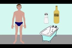 Hautpilz mit Hausmitteln lindern