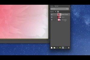 Bei GIMP die Ebene wechseln - so wird's gemacht