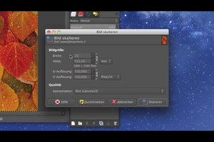 GIMP: A4-Bildvorlage erstellen - so geht's