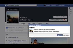 Facebook-Miniaturbild bearbeiten - so klappt es