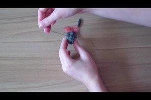 Filzen mit der Nadel - Anleitung für eine Maus