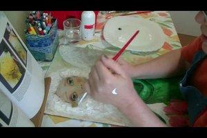 Acrylfarbe auf Haut - so entfernen Sie sie schonend