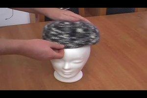 Mütze stricken und filzen - so geht's