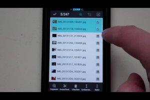 Samsung Galaxy S2 alle Bilder auf SD Karte - Hilfreiches