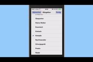 Klingelton beim iPhone einem Kontakt zuweisen - so funktioniert's