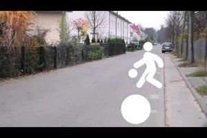 Vorfahrtsregeln in der Spielstraße - so verhalten Sie sich korrekt