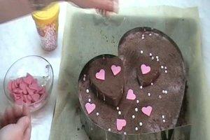 Herzkuchen - Ein Rezept zum Valentinstag