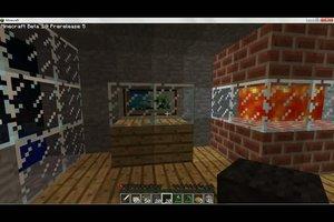 Bei Minecraft einen Fernseher bauen