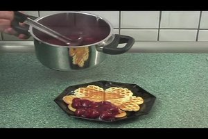 Heiße Kirschen andicken - eine Anleitung