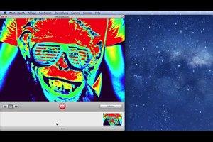 Mit dem Mac Fotos machen - so funktioniert's mit Photo-Booth
