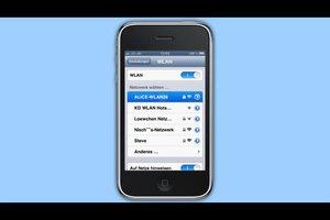 Wi-Fi-Funktion - so stellt man sie am iPhone ein