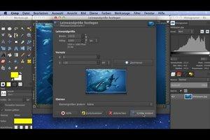 1920x1080: HD-Wallpaper erstellen - so gelingt's mit GIMP