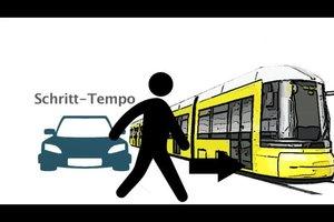 Straßenbahn hat Vorfahrt - so verhalten Sie sich richtig