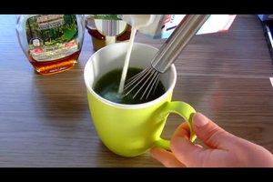 Matcha-Tee zum Abnehmen
