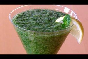 Grüne Smoothies mit Spinat und Gurke - zwei einfache Rezepte