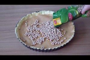Hülsenfrüchte zum Blindbacken - so gelingt der Kuchenboden