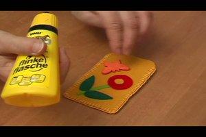 Handytasche aus Filz - Anleitung zum Selbermachen