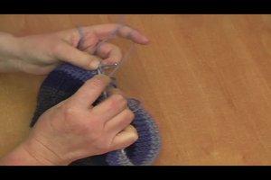 Baskenmütze stricken - Anleitung