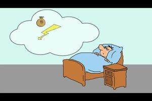 Wache nachts ständig auf - das können Sie gegen Schlafstörungen tun